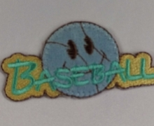 APPLICAZIONE 553 BASEBALL PZ. 1