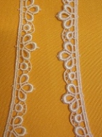 MERLETTO MACRAME LARGO 1 CM. ART. 41758/V AL MT.