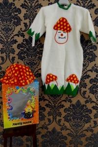 COSTUME FUNGHETTO BABY TAGLIA 1/2 ANNI