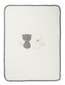 COPERTINA IN CINIGLIA ART. 121100 COLORE BIANCO LANA EMC